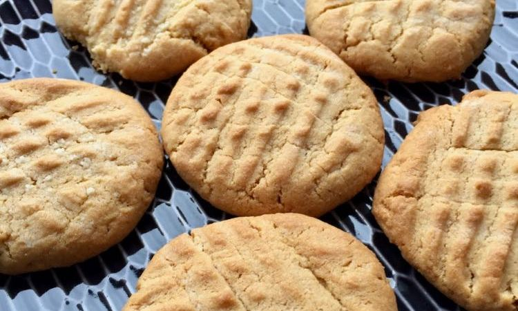 Classic Peanut-Butter Cookies, gluten-free