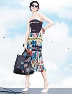 Des mots sur les robes de Dior PE14