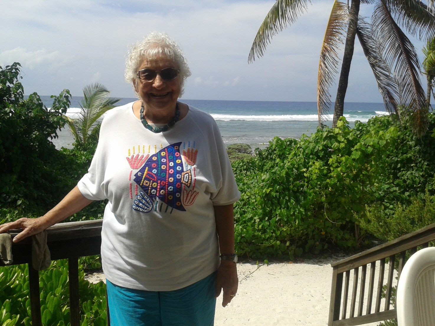Gladys Howard runs the legendary Pirates Point resort on Little Cayman