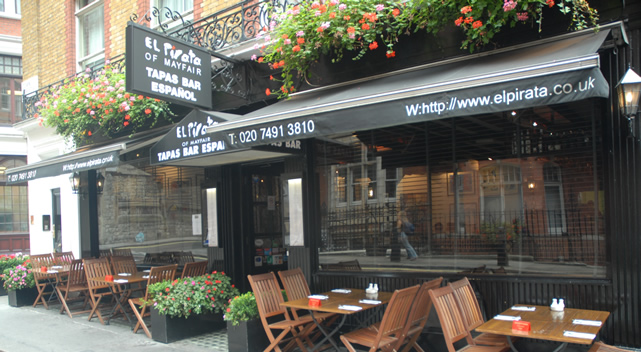 El Pirata: the friendliest tapas in London's Mayfair
