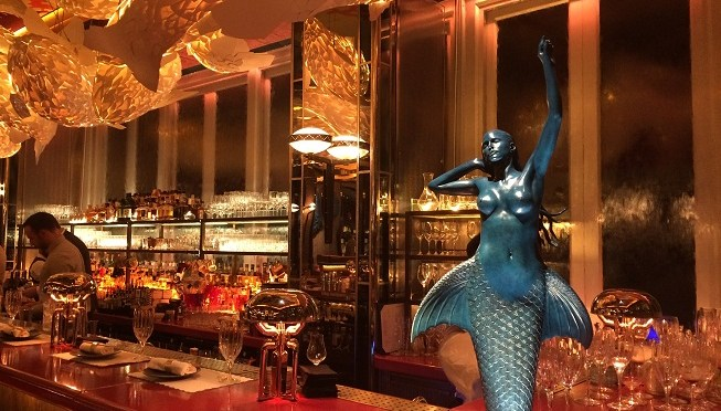 Sexy Fish: Mayfair's slice of loud, brash, bling and fun