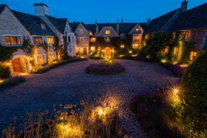 best luxury country houses hotels for Christmas