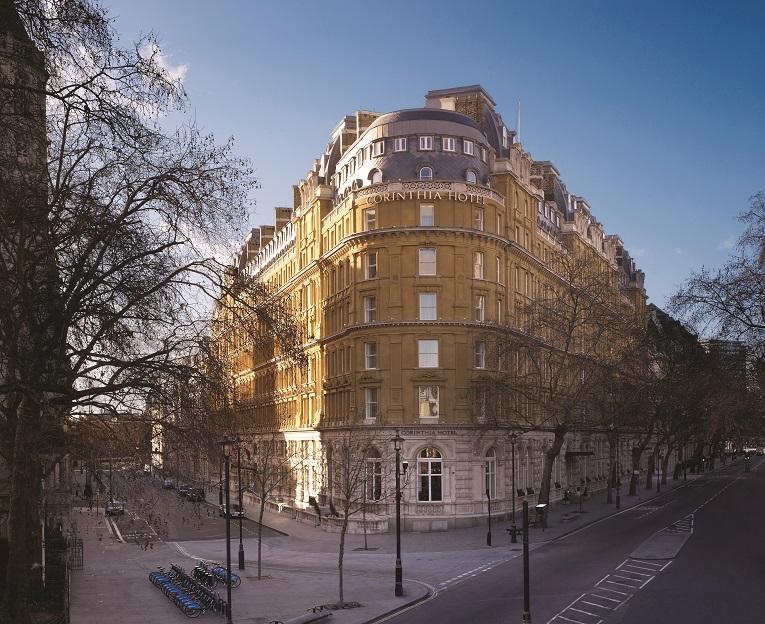 inside the five star Corinthia Hotel London