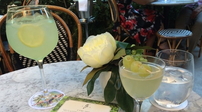 A cooling terrace (and a cocktail or two) at The Bloomsbury, London
