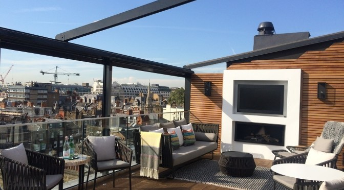 My stay at The Marylebone: a room with a view and a seriously nice roof terrace