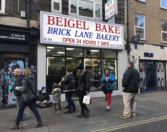 Curry, bagels, fish and chips and bacon butties on a food tour of London's East End