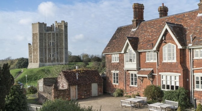 The Crown and Castle Orford – it's a Suffolk spot of food heaven