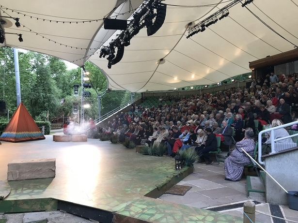 audience at Kilworth House theatre