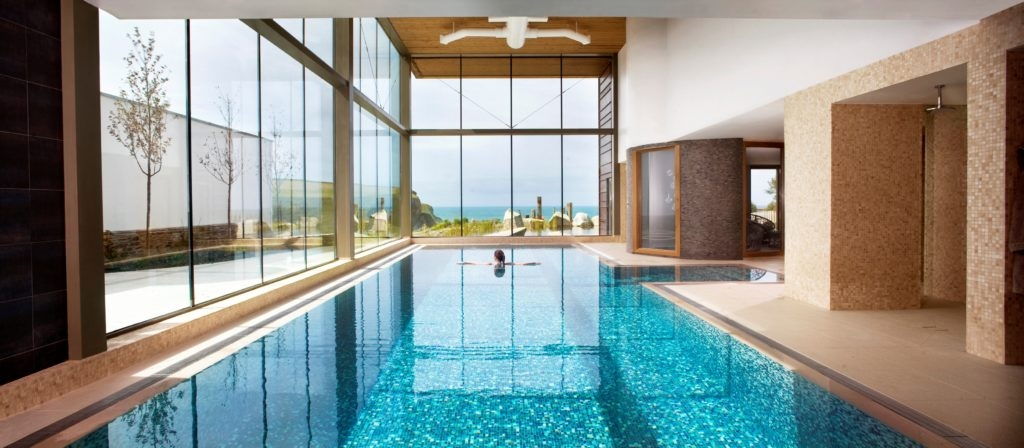 swimming pool at The Scarlet beautiful hotels with pools for the summer