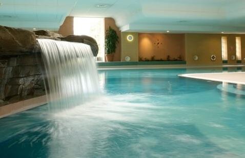 The main swimming pool at Ragdale Hall