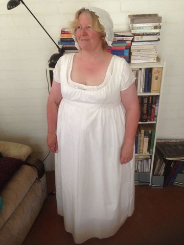 Regency bodiced petticoat