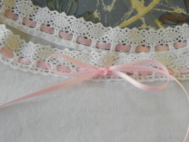 Chemise neckline detail
