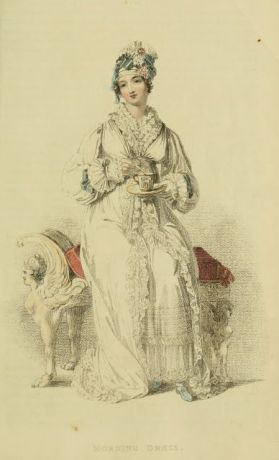 1816 Fashion plate - Morning dress