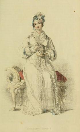 1816 Fashion plate - Morning dress
