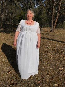 Muslin Gown Front