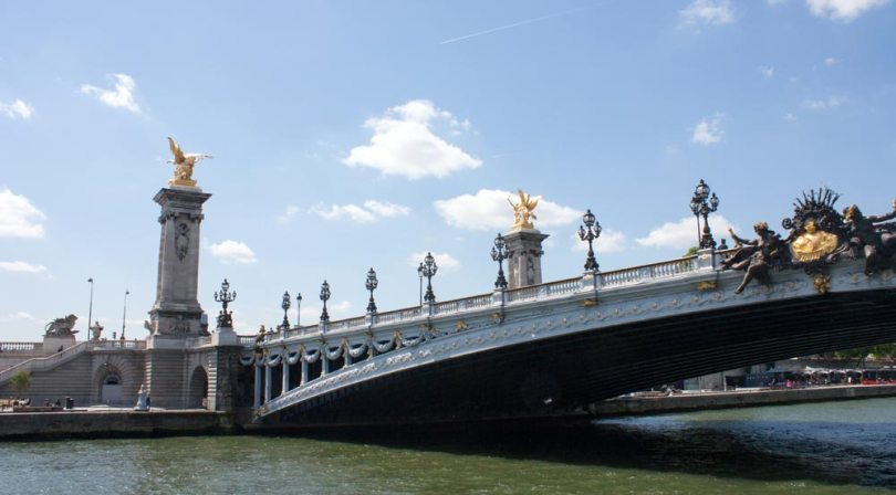 Le pont Alexandre III, rive gauche
