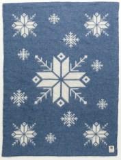 Álafoss Wool Blanket - Blue 0301
