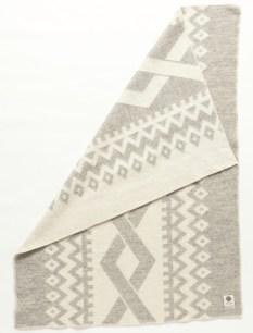 Álafoss Wool Blanket - Flétta Grey 0402