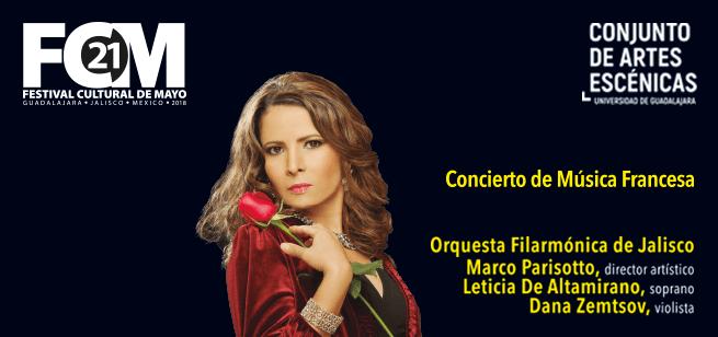 Concierto de música francesa / Conjunto de Artes Escénicas