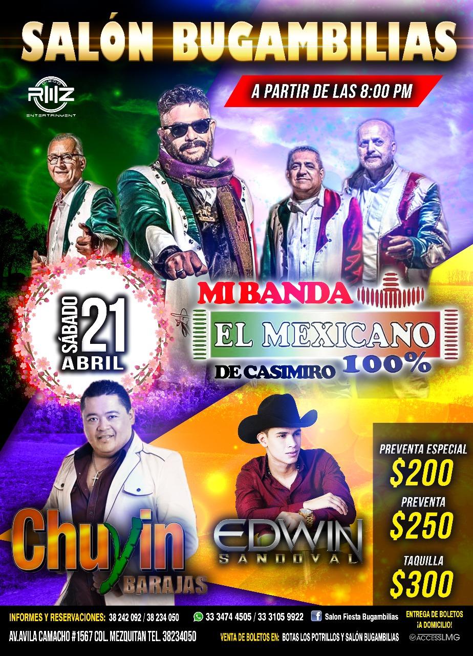 Su majestad Mi banda el Mexicano / Salón Bugambilias