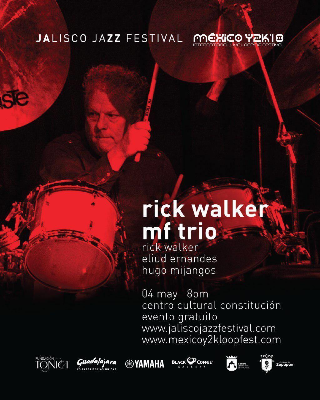 Rick Walker MF Trio / Centro Cultural Constitución