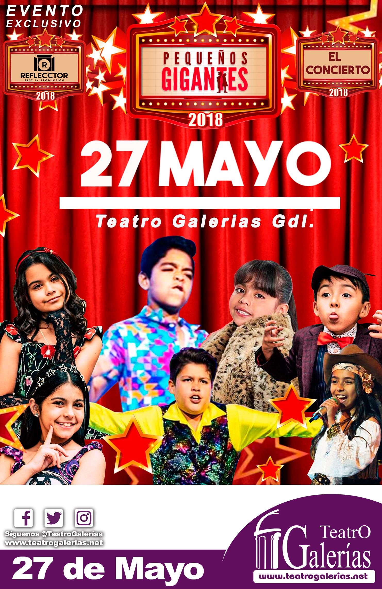 Pequeños Gigantes / Teatro Galerías
