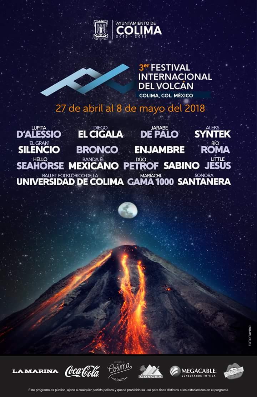 Festival Internacional del Volcán en Colima