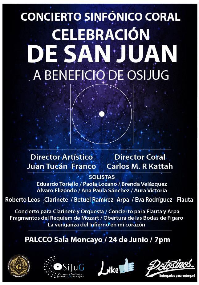 """""""De San Juan"""", un  concierto-sinfónico coral dedicado a Mozart / PALCCO"""