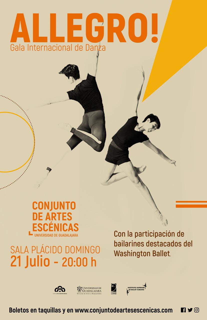 #DateAlaFuga #Cortesías / Allegro! / Conjunto de Artes Escénicas