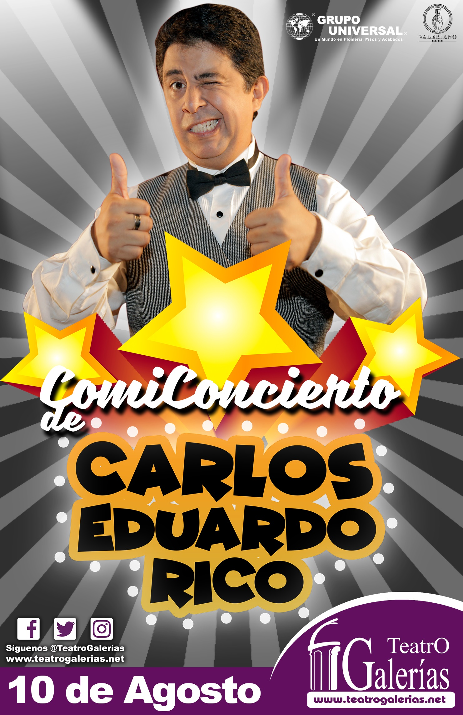 Carlos Eduardo Rico / Teatro Galerías