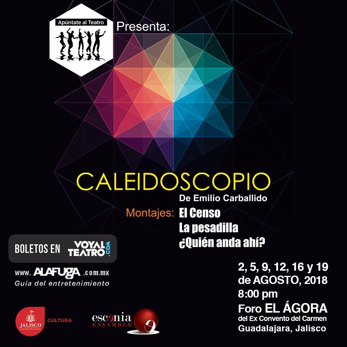 Caleidoscopio de Emilio Carballido / Foro Ágora del Exconvento del Carmen
