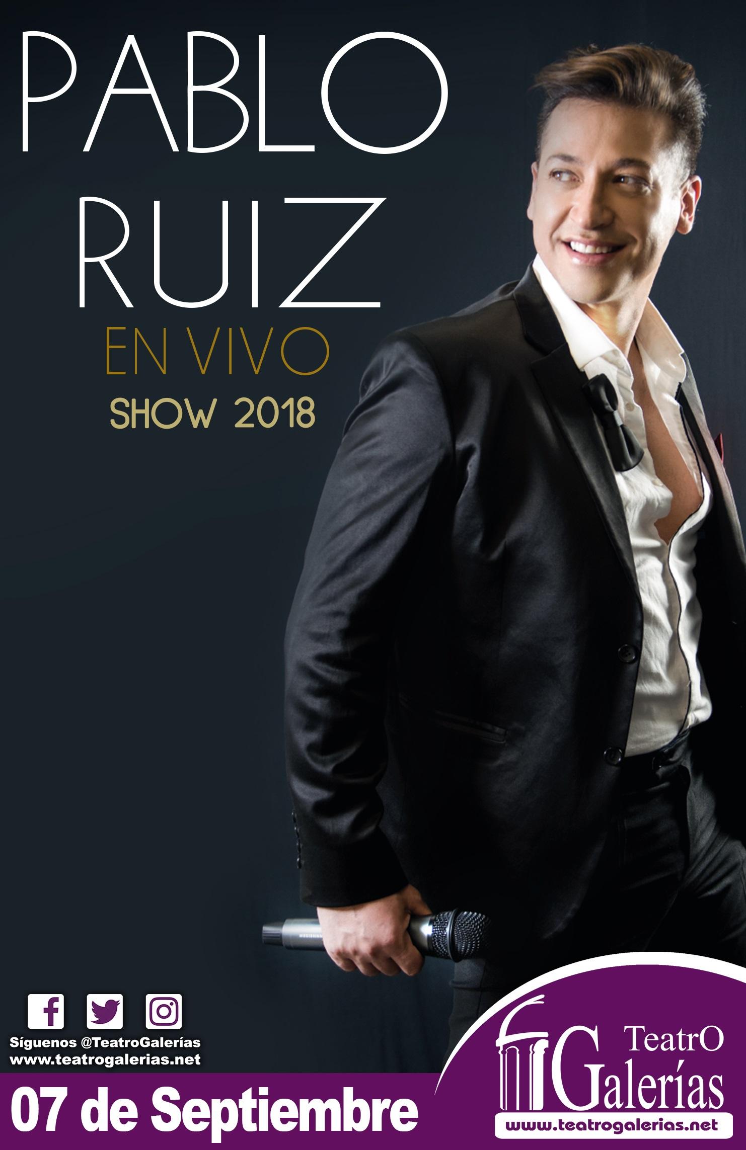 Pablo Ruíz / Teatro Galerías