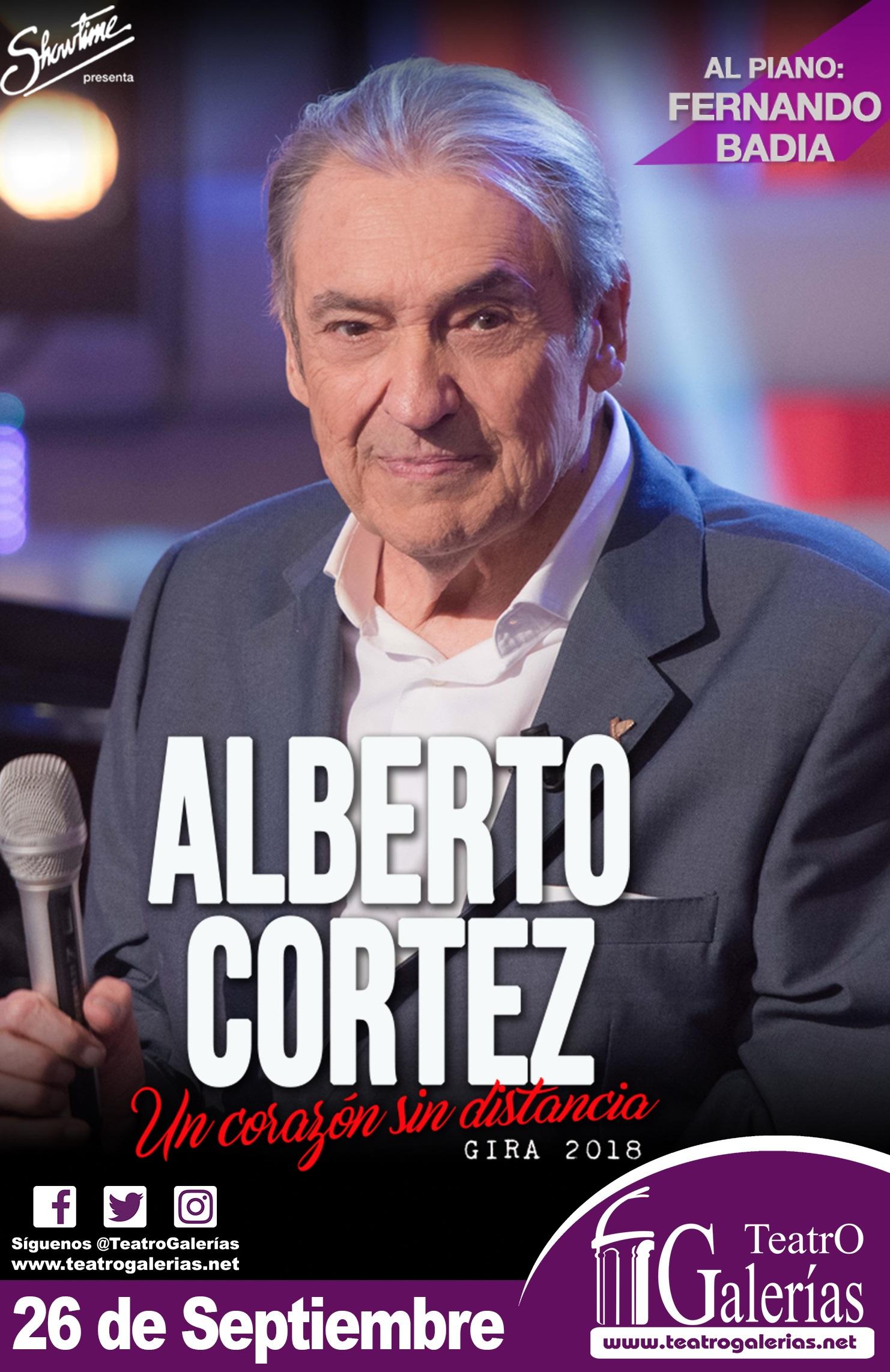 Alberto Cortéz / Teatro Galerías