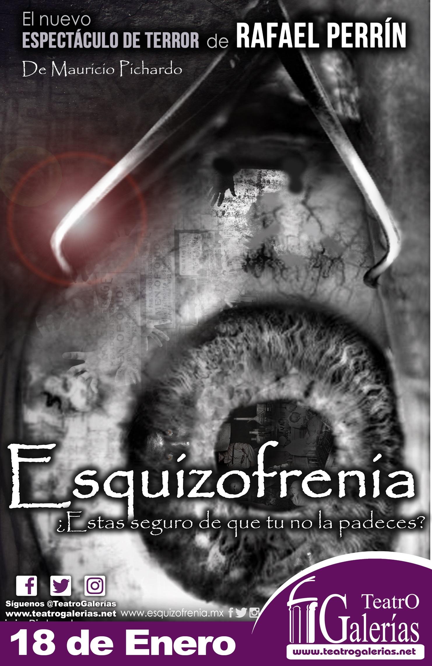 Esquizofrenia / Teatro Galerías
