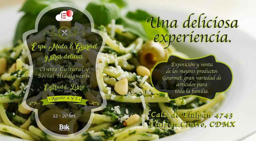 Expo Moda & Gourmet y otras delicias.