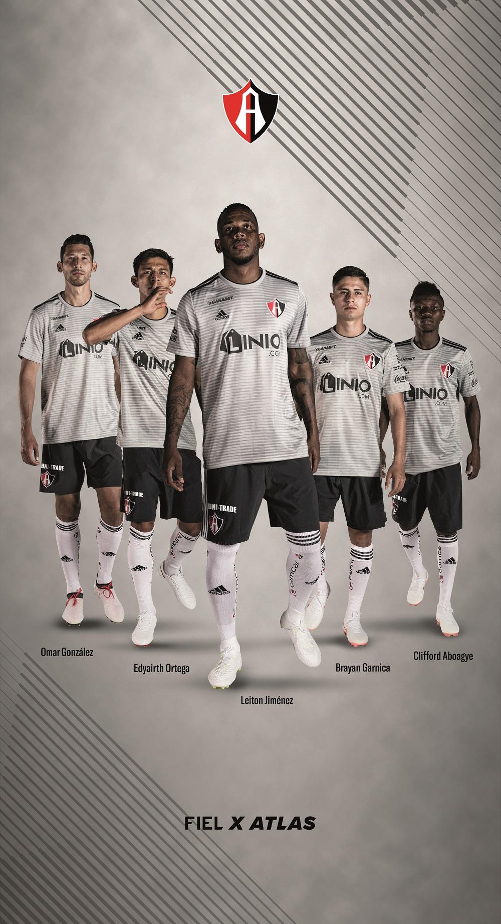 Atlas FC y adidas presentan el nuevo uniforme de La Academia del Fútbol Mexicano para la temporada 2018-2019.  La nuevos kits de los Rojinegros estarán disponibles para el primer compromiso del Apertura 2018.
