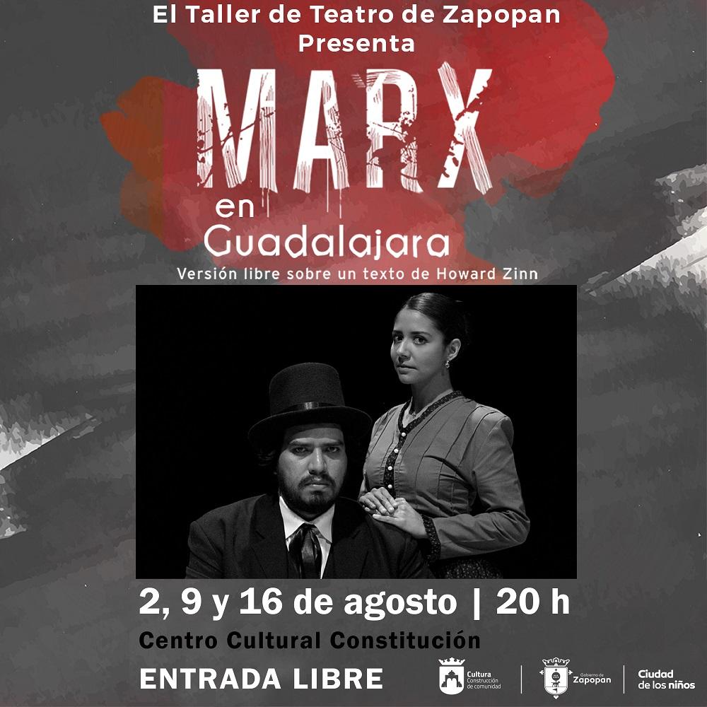 Marx en Guadalajara / Centro Cultural Constitución