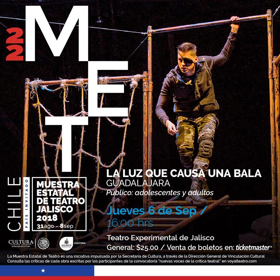 La luz que causa una bala / Teatro Experimental de Jalisco