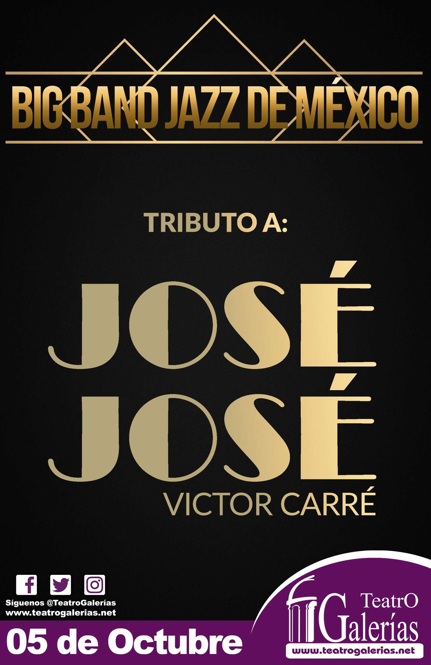 Big Band Jazz de México / Teatro Galerías