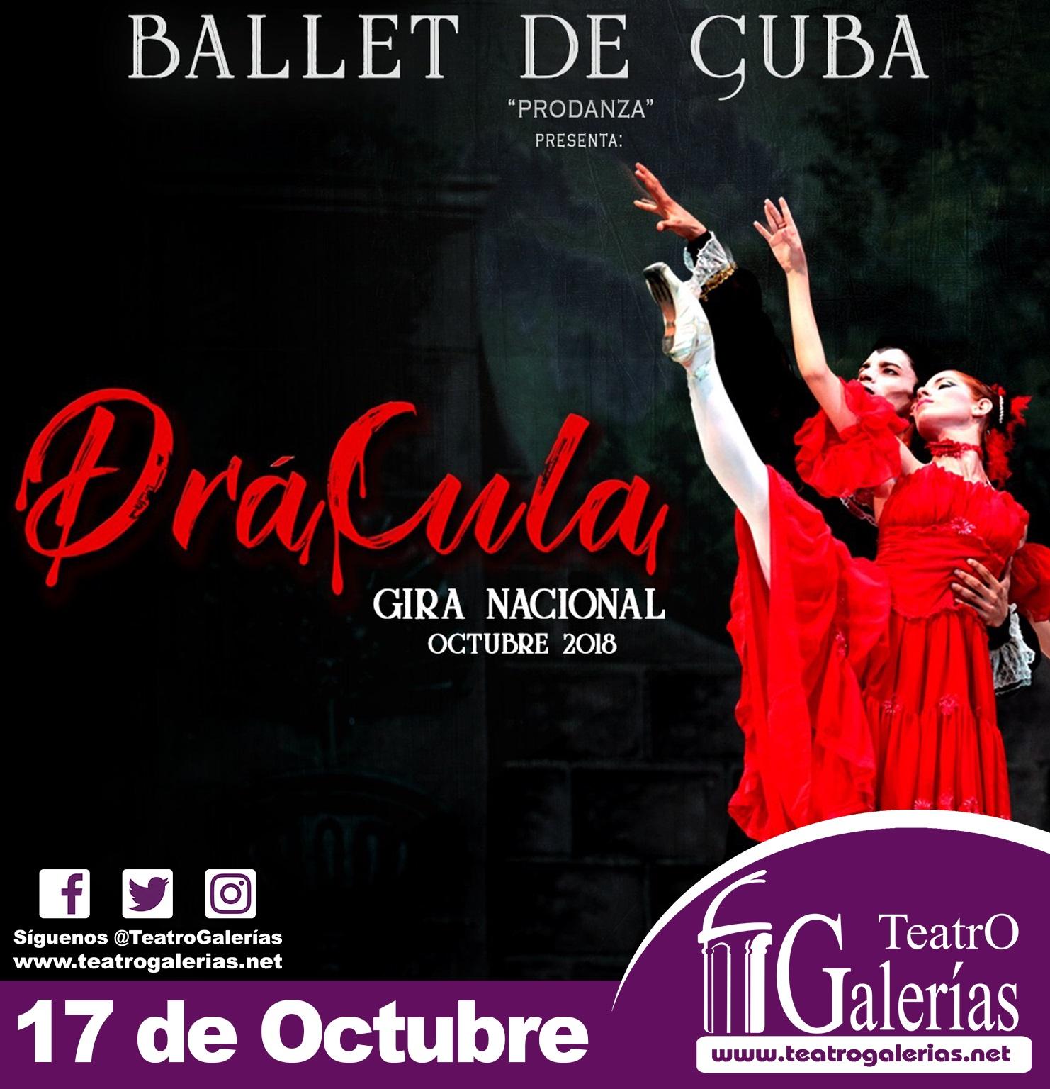Dracula / Teatro Galerías