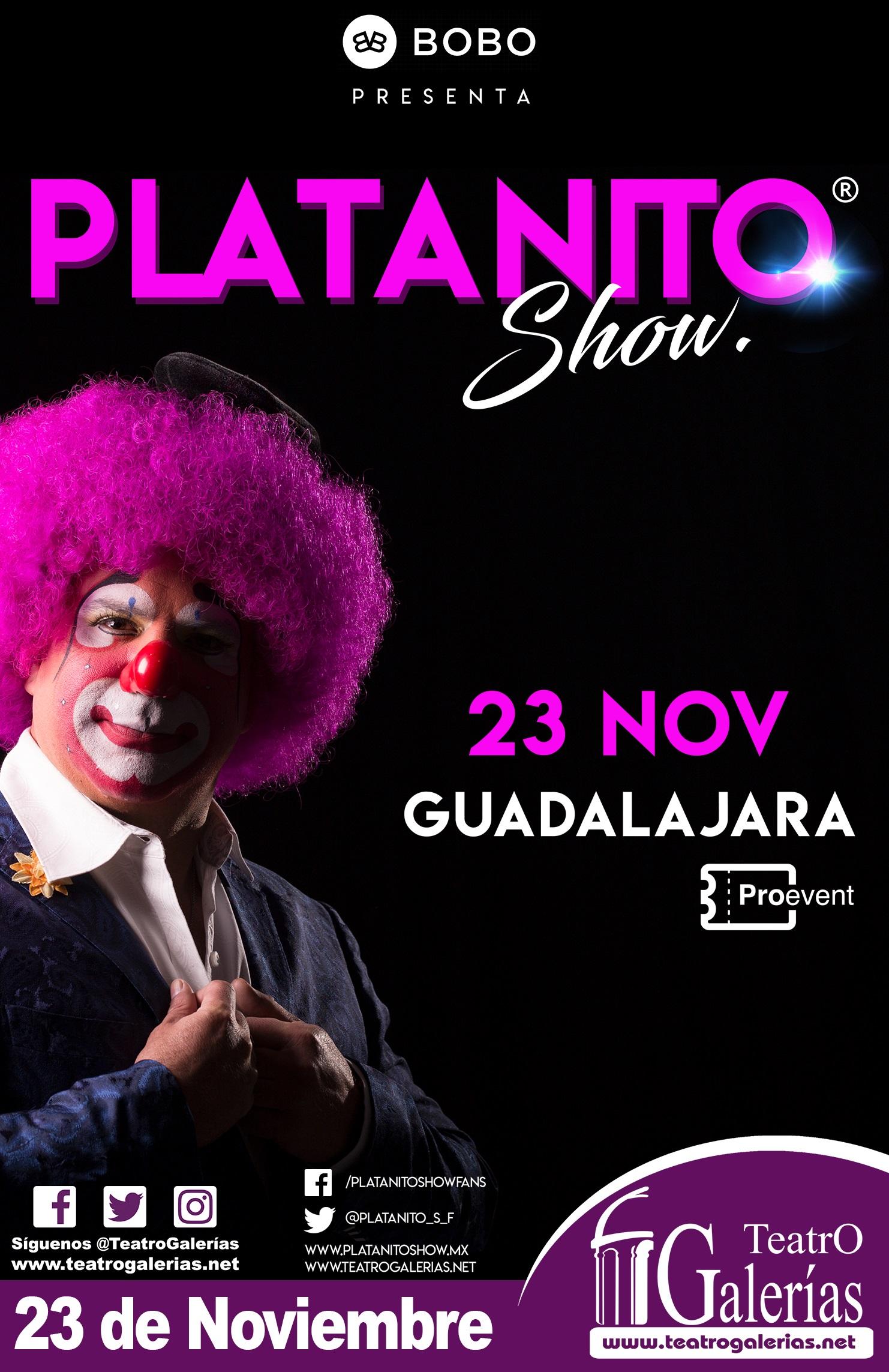 Platanito Show / Teatro Galerías