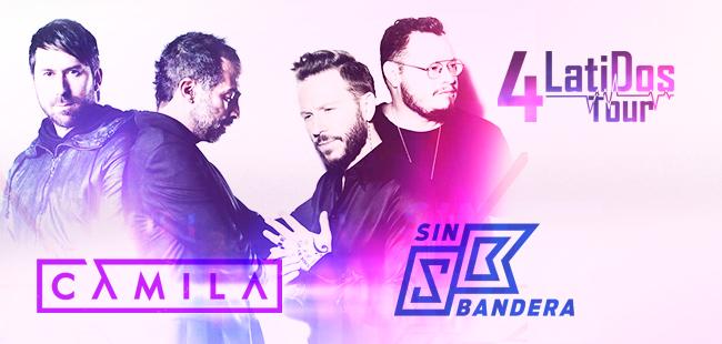 4 Latidos y SB / Auditorio Telmex