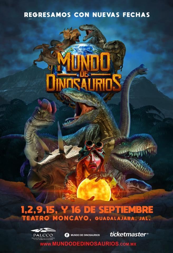 #DateAlaFuga #Cortesías / Mundo de Dinosaurios / PALCCO