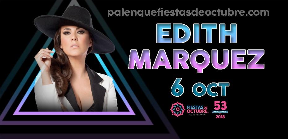 Edith Marquez / Palenque Fiestas de octubre 2018