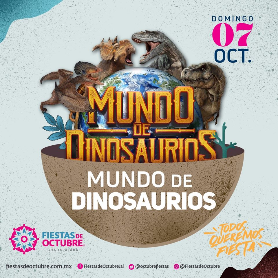 Mundo de Dinosaurios / Auditorio Benito Juarez