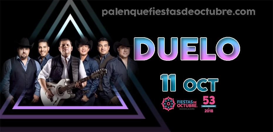 Duelo / Palenque Fiestas de octubre 2018
