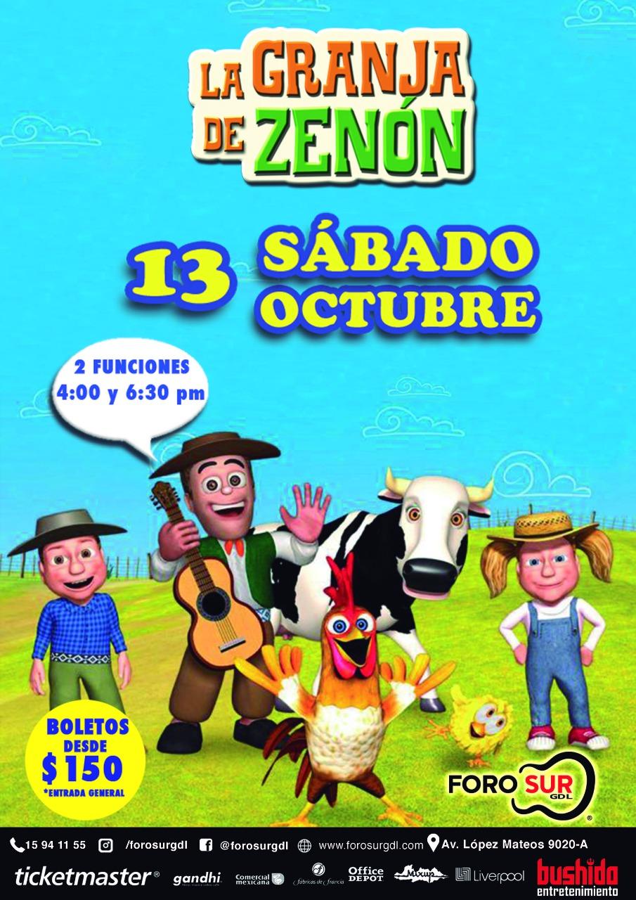 #DateAlaFuga #Cortesías / La granja de Zenón / Foro Sur