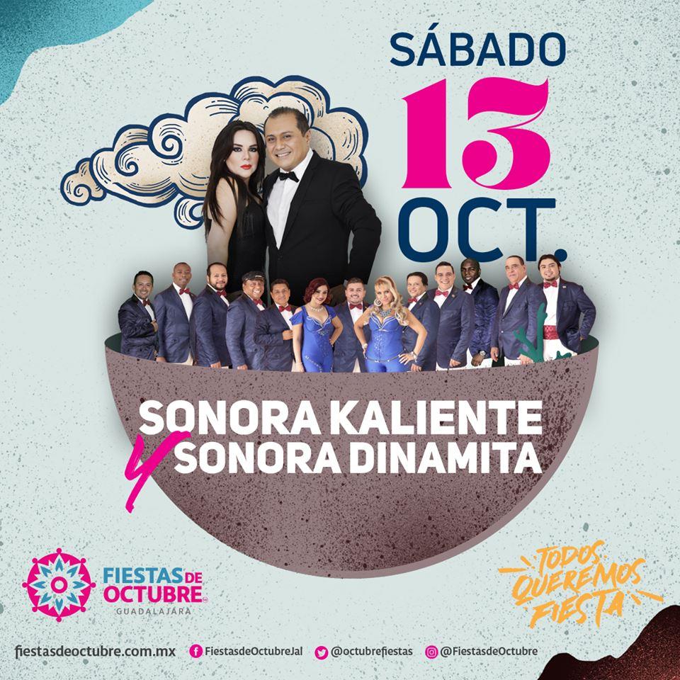 Sonora Kaliente y la Sonora Dinamita / Auditorio Benito Juárez