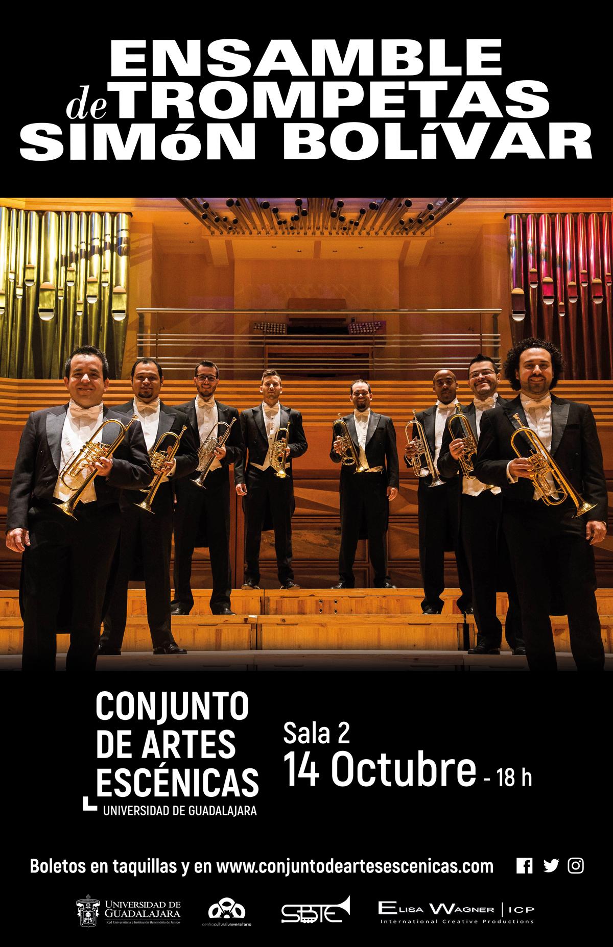 #DateAlaFuga #Cortesías / Ensamble de Trompetas Simón Bolívar / Conjunto de Artes Escénicas