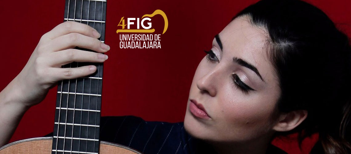 Festival Internacional De Guitarra Presenta: Andrea González / Conjunto de Artes Escénicas